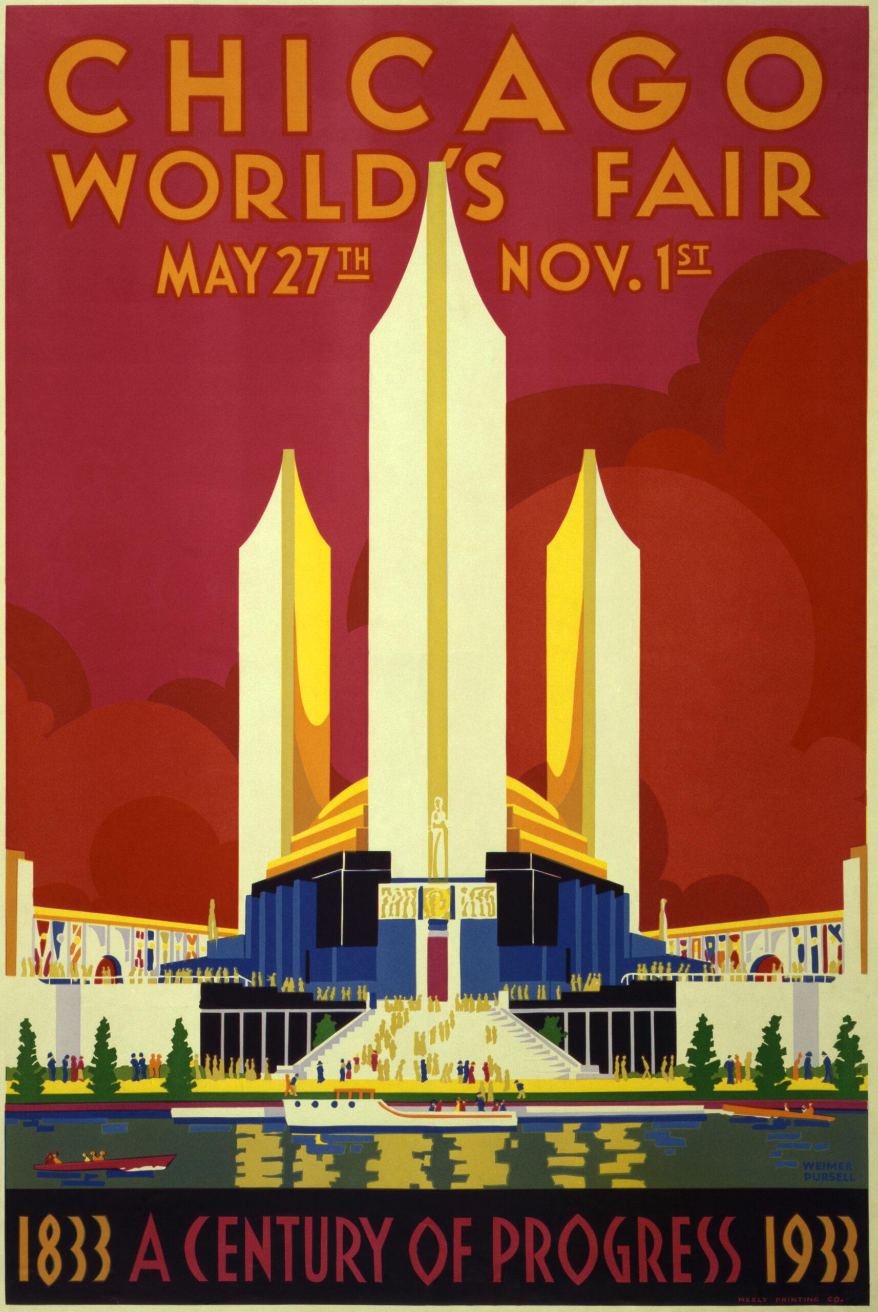 Chicago World's Fair Poster