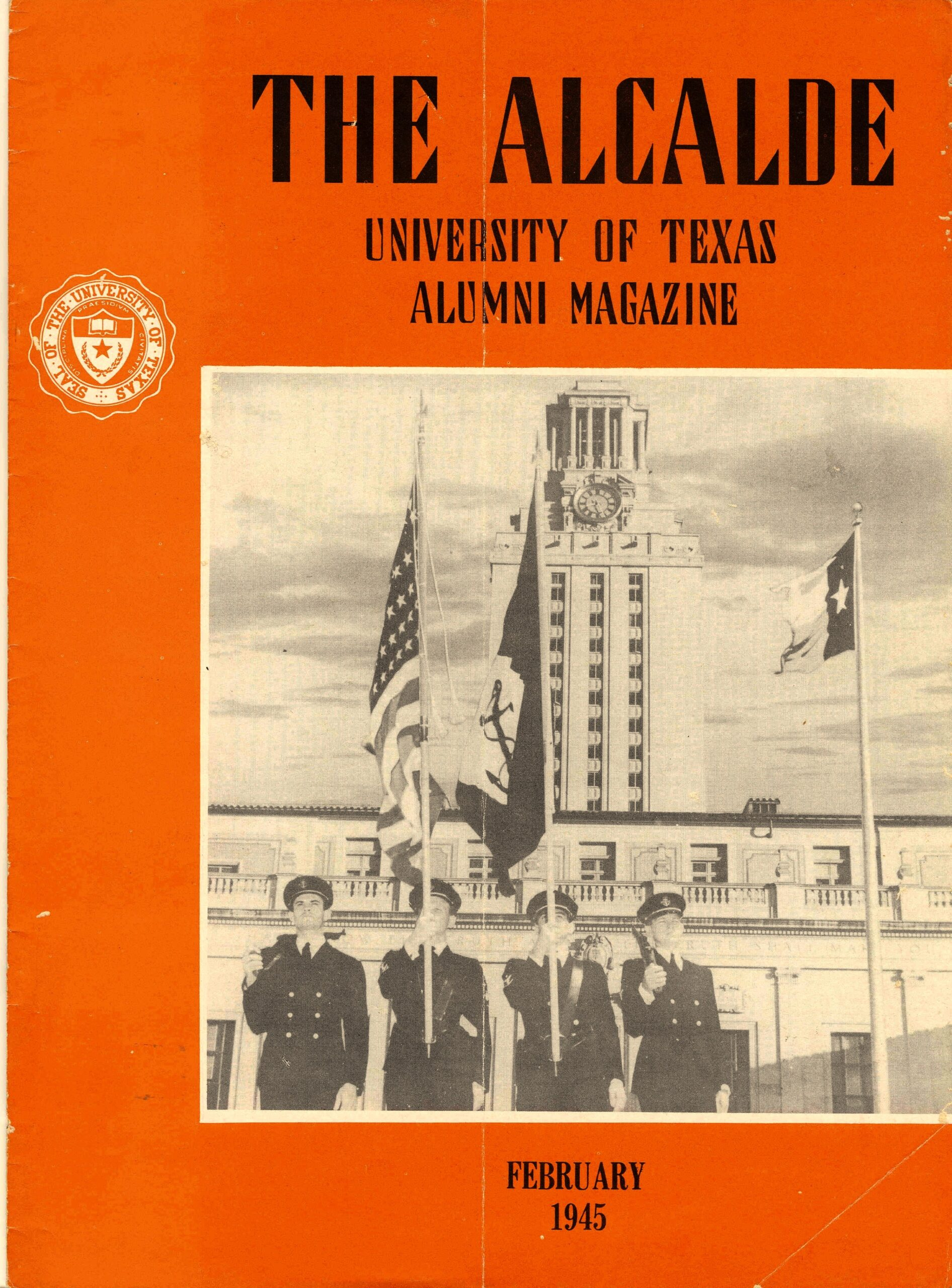 Cover of the Alcalde Magazine, February 1945