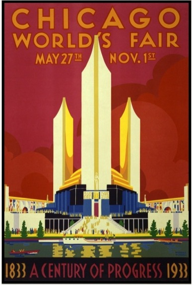 Poster from the 1933 Chicago World's Fair